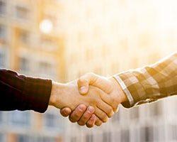 Consulting Handshake